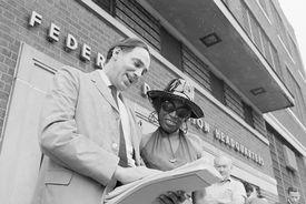 Attorneys William Kuntsler and Florynce Kennedy