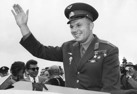 Yuri Gagarin Waving