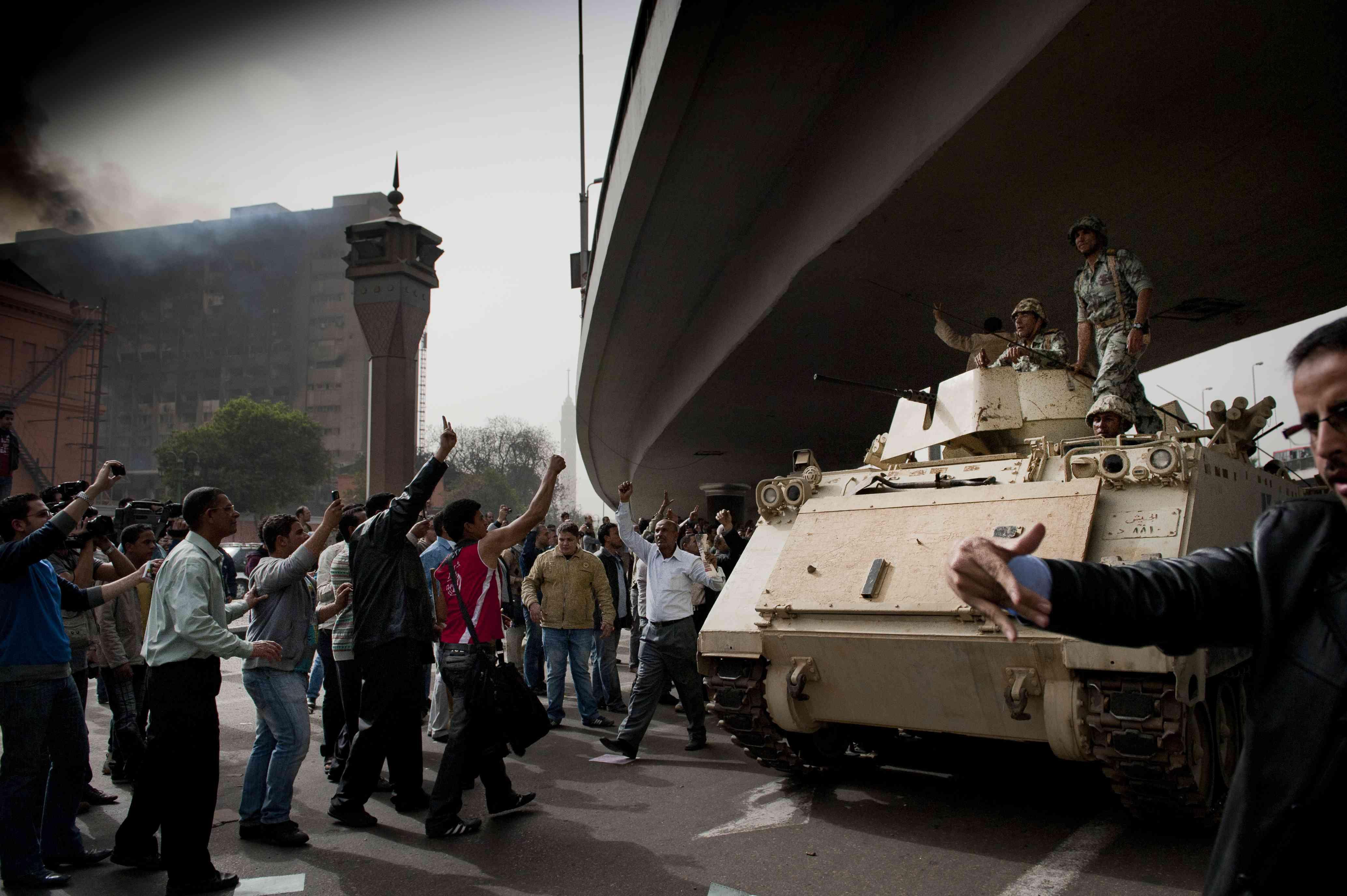 Egypt - Uprising in Cairo