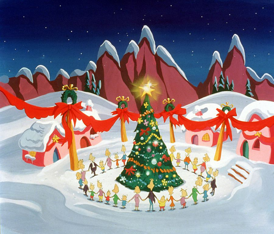 pictures from dr seuss how the grinch stole christmas
