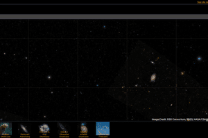 screenshot of Google Sky