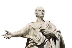Cicero, the ancient roman senator
