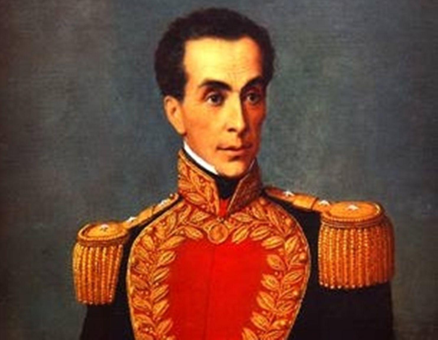Simon Bolivar portrait