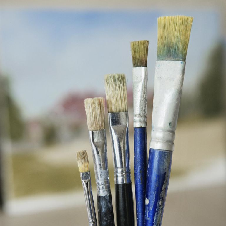 know your painting brush hairs and bristles