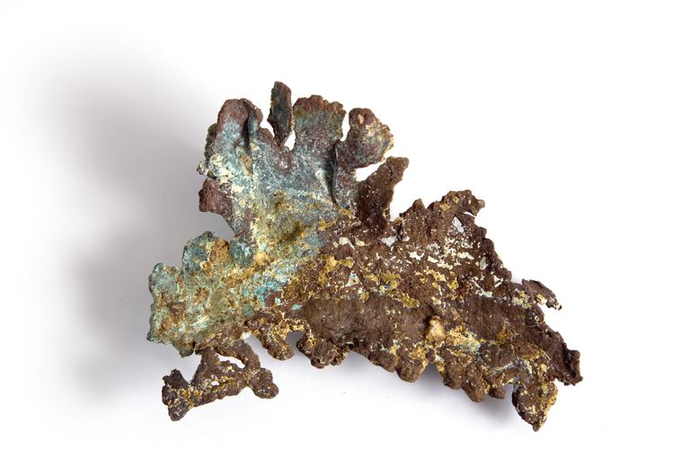 Copper in an example of a native element or one that occurs naturally in pure form.