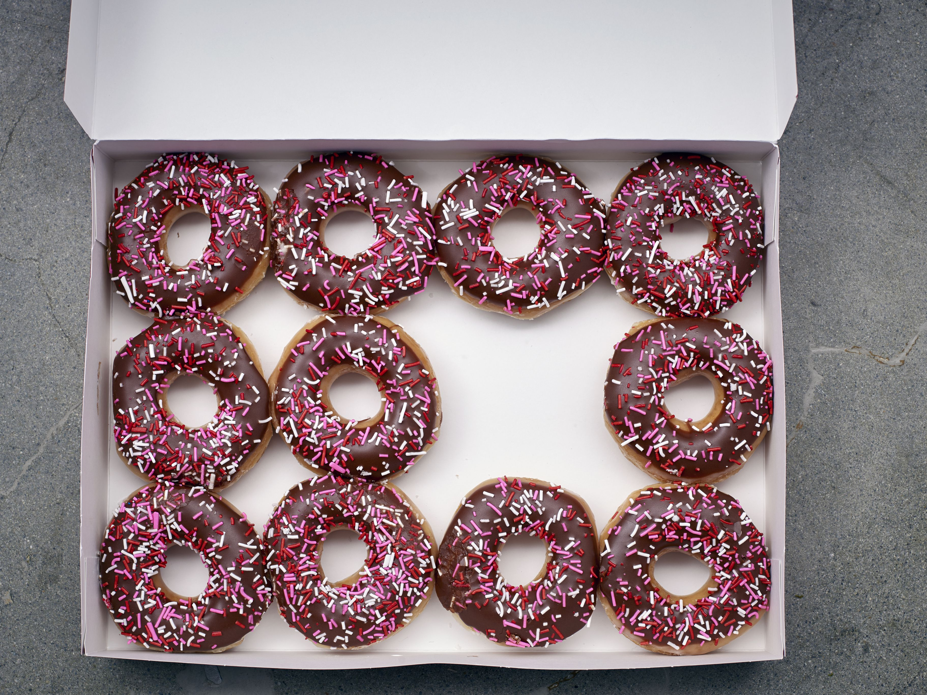 box-of-11-doughnuts-540034987-58e3bb5f3df78c51621ab36b Different Ways To Get In Math on