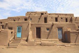 Taos Pueblo in New Mexico