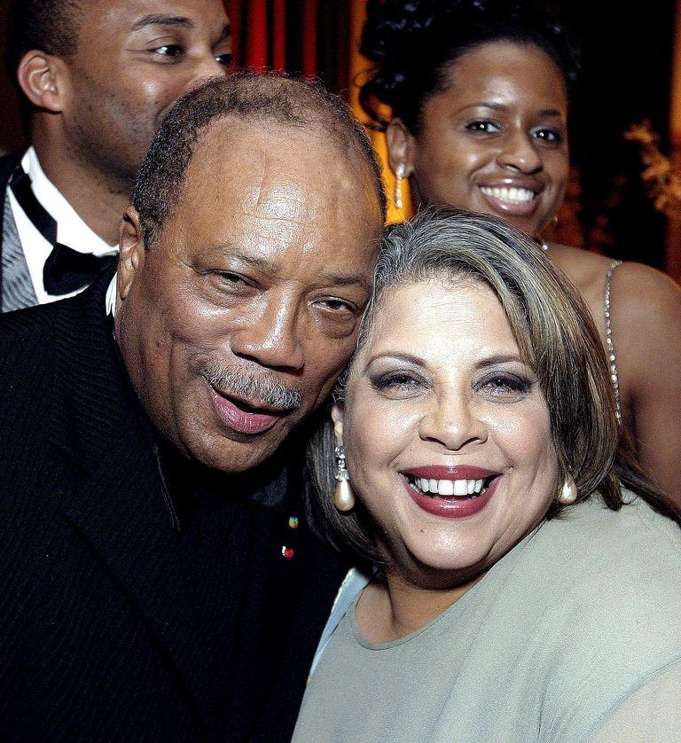 Quincy Jones and Patti Austin