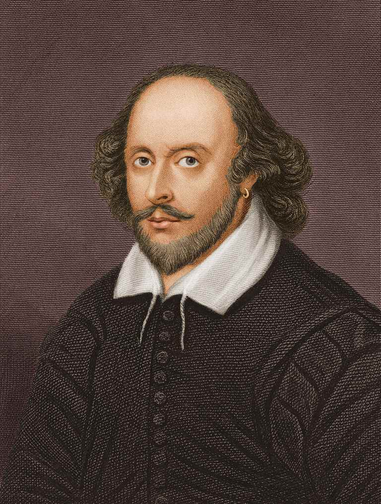 William Shakespeare circa 1600