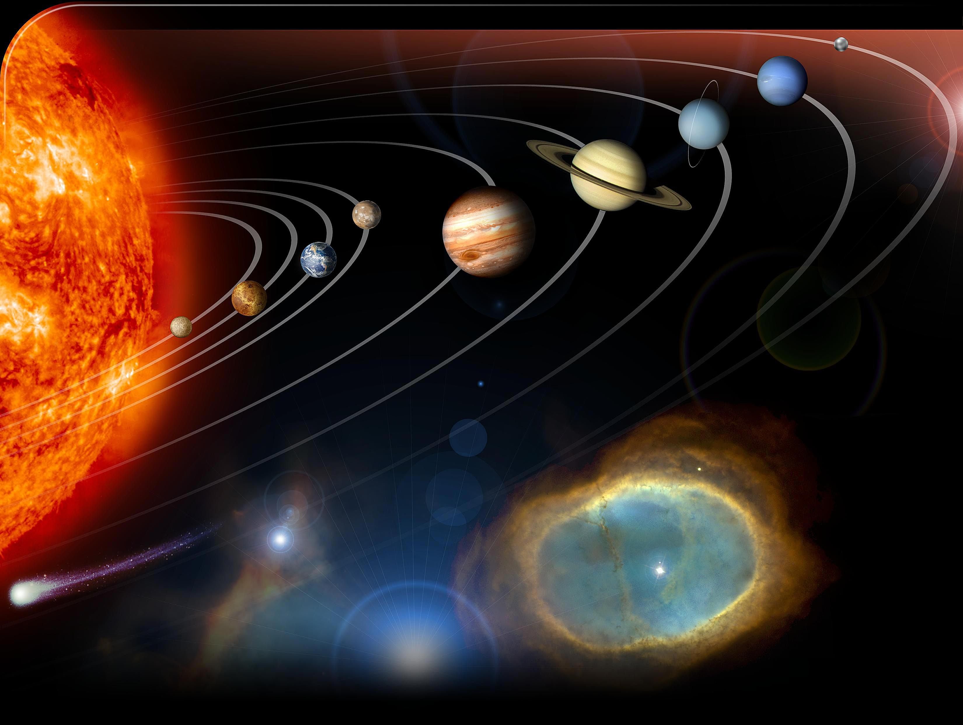 The New Solar System What We Know About It