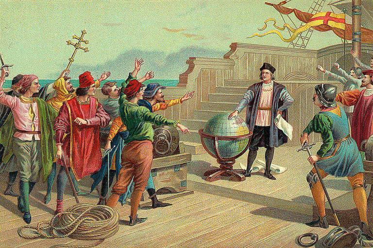Christopher Columbus had many famed voyages during the Age of Discovery