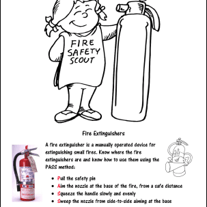Fire Prevention Week Mini Book - Sheet 1 | Fire prevention week ... | 303x303