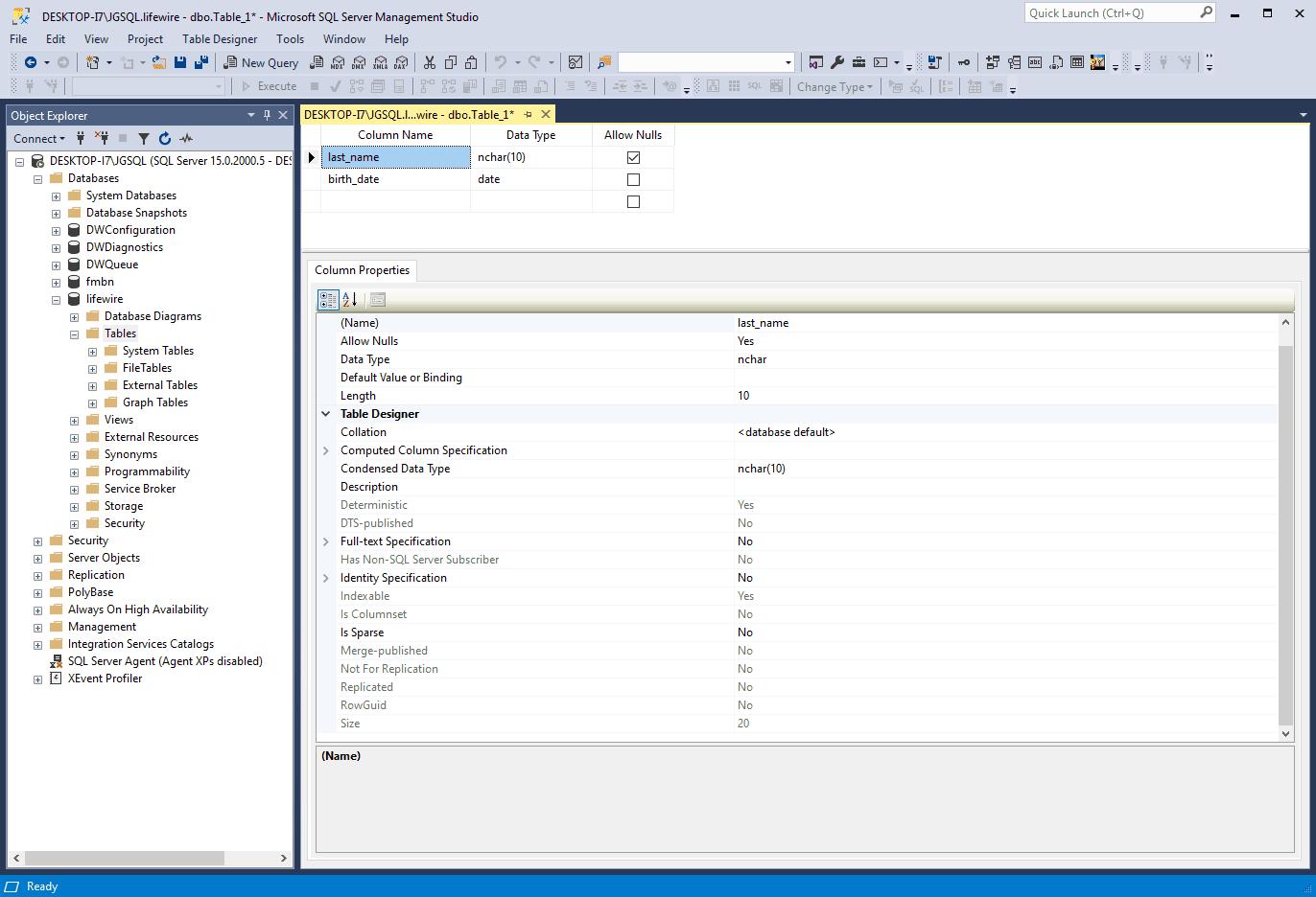 sql server add field