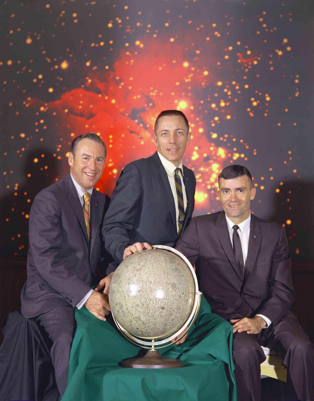 Pictures of Apollo 13 Mission - The Actual Apollo 13 Prime Crew