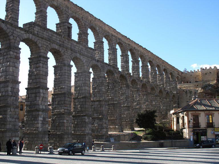 Roman Aqueduct at Segovia
