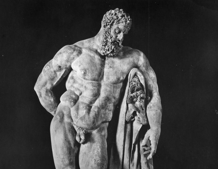 Sculpture of Hercules
