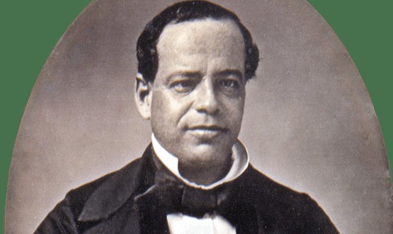 Daguerreotype of Antonio López de Santa Anna