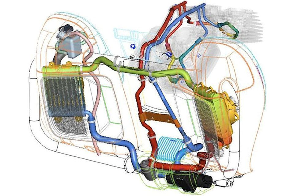 harley davidson engine cooling diagram liquid cooled 2014 harley-davidsons: 6 things to know