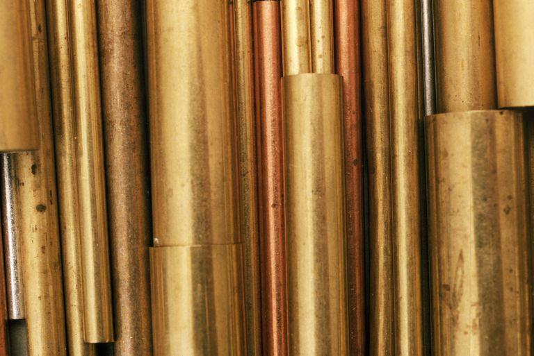 Brass and Copper Pipes