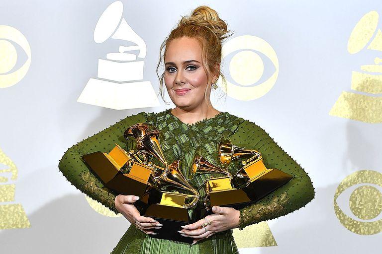 Adele Grammy's 2017