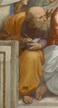 Anaximander From Raphael's The School of Athens.
