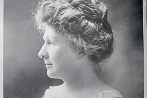 Photo of Annie Jump Cannon in profile