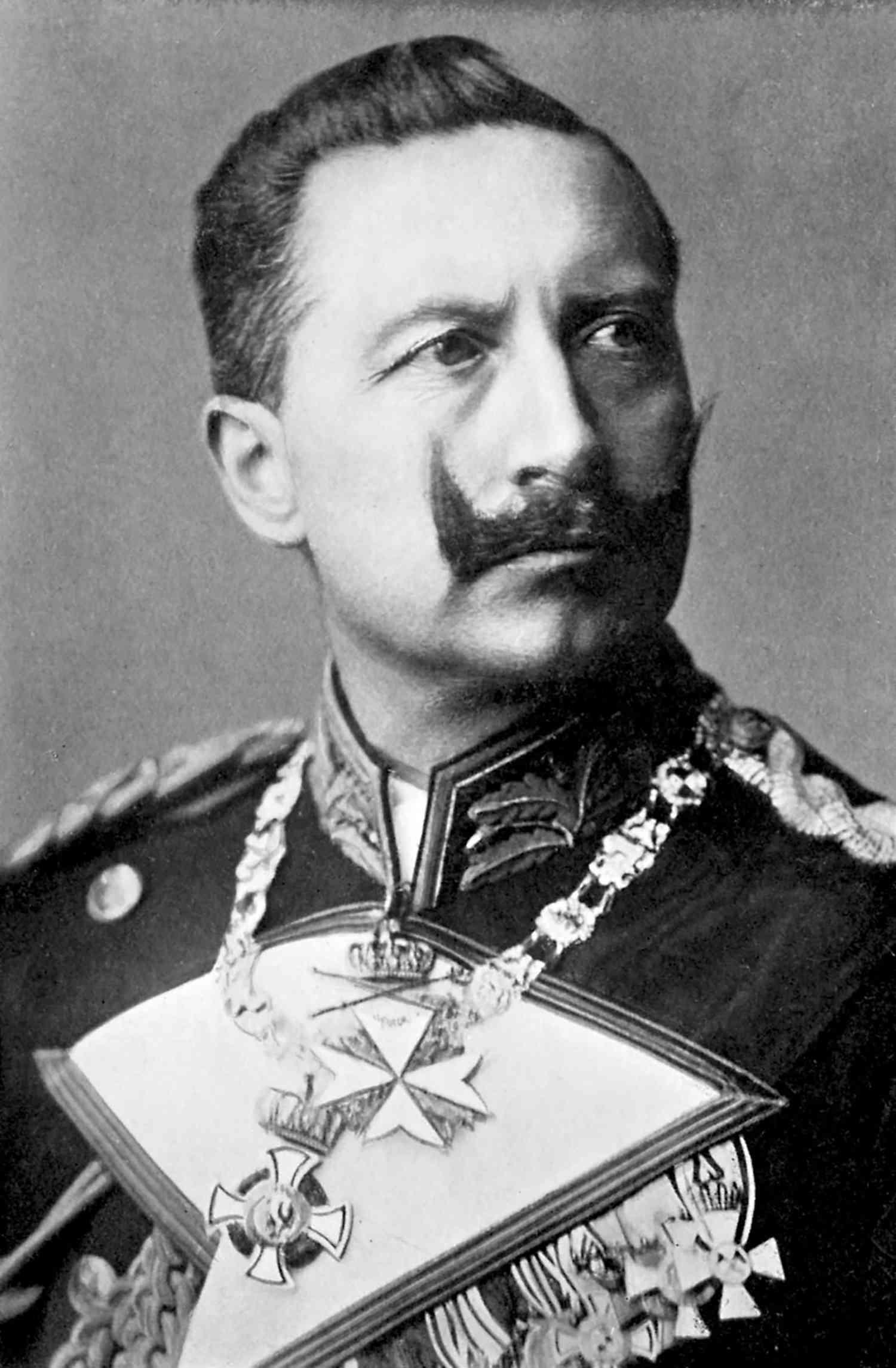 Wilhelm II , German Emperor from 1888 - 1941