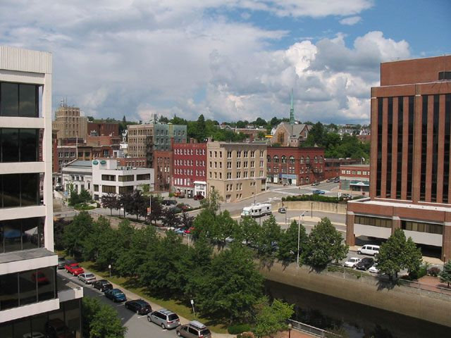 Downtown Bangor, Maine