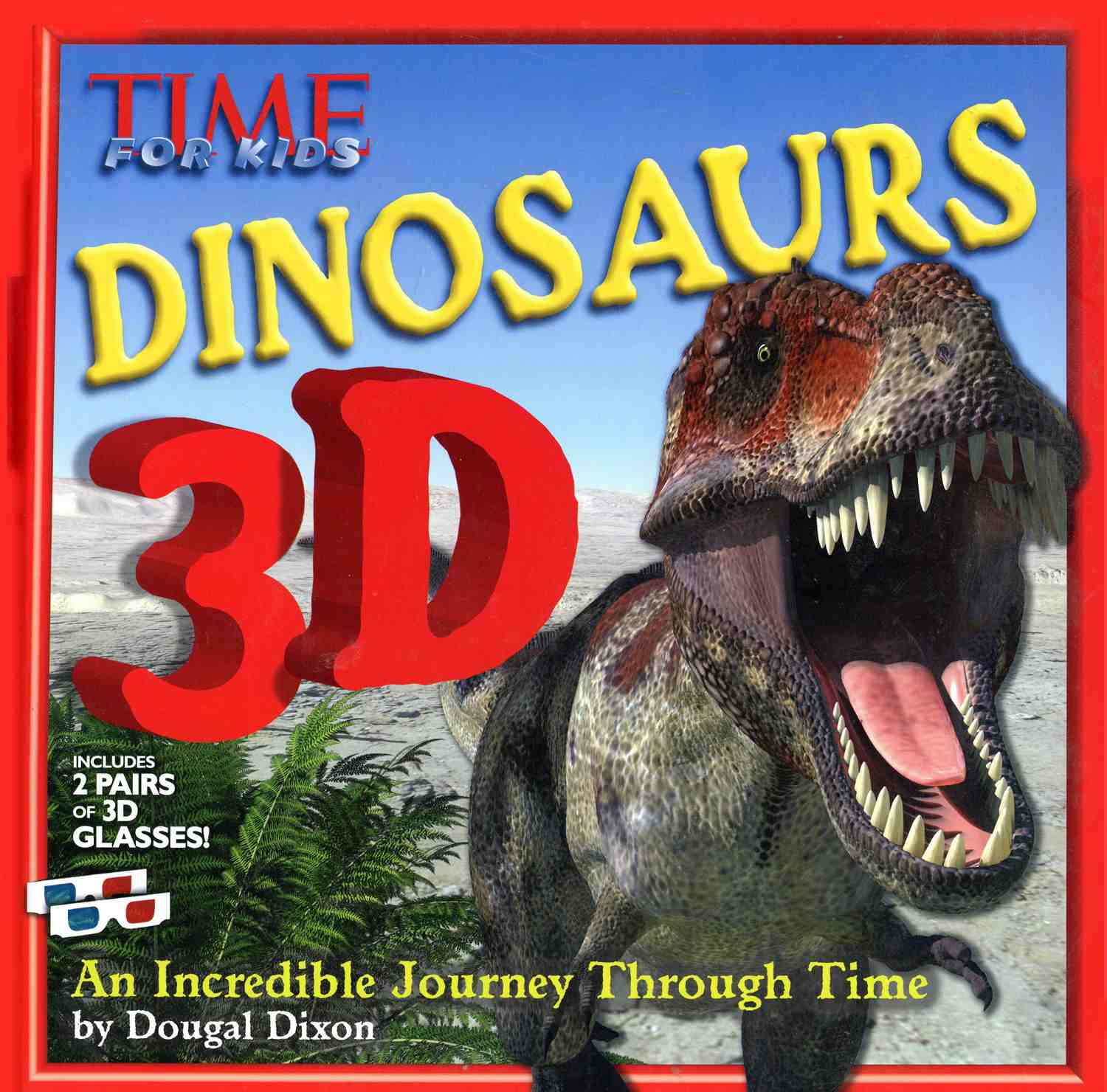 TIME For Kids Dinosaurs 3D - Book Cover