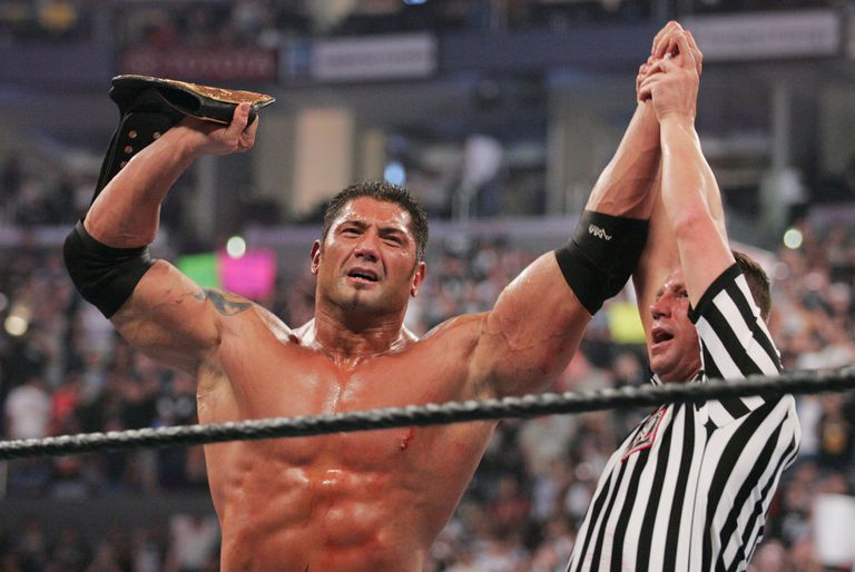 Batista, World Heavyweight Champion of the WWE