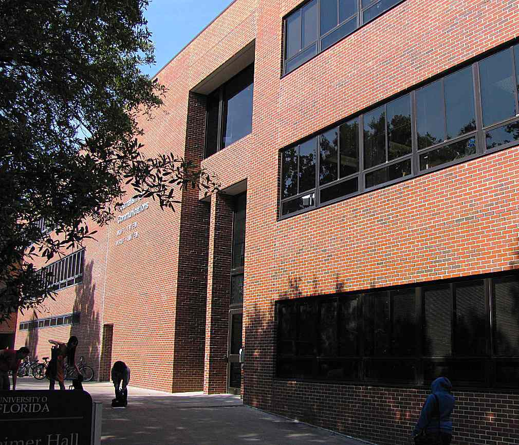 Weimer Hall at the University of Florida