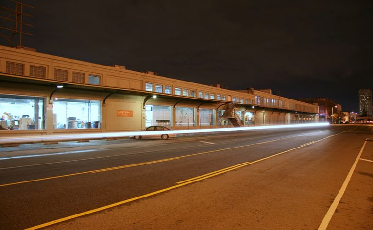 SCI-Arc from Santa Fe Avenue