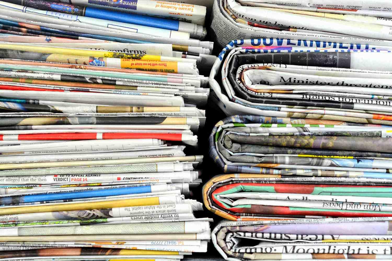Newspaper Stack
