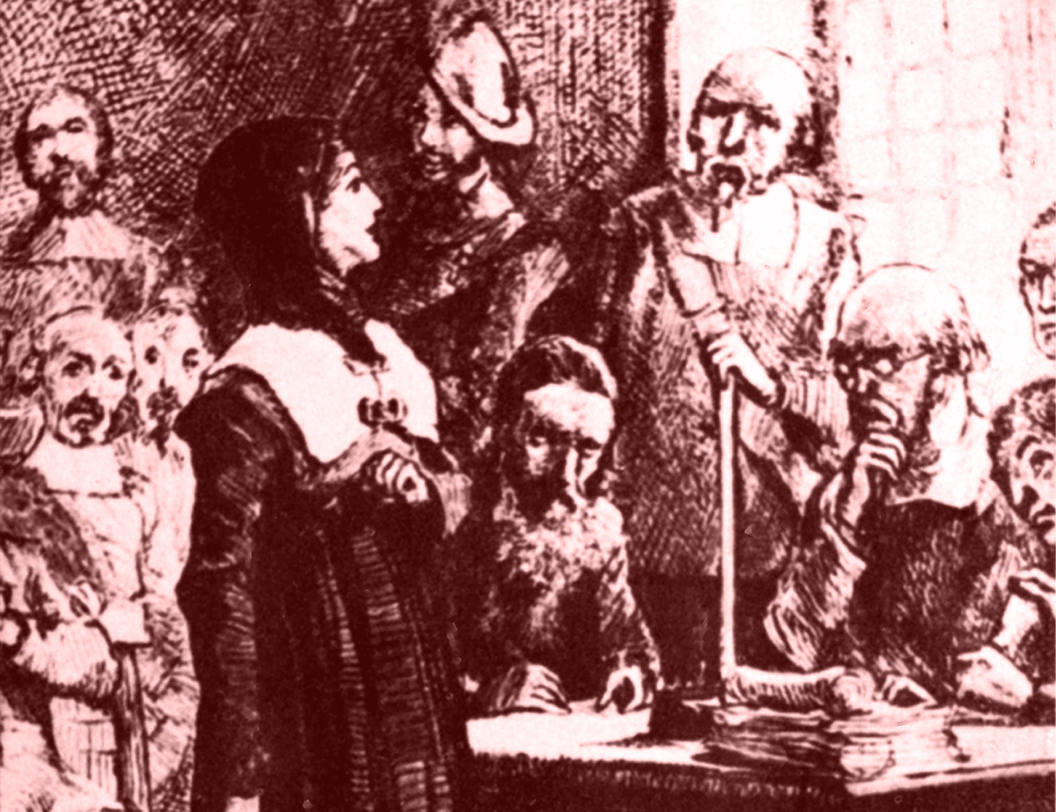 an analysis of the book the times and trials of anne hutchinson puritans divided Anne hutchinson (née marbury july 1591 - august 1643) was a puritan spiritual adviser, mother of 15, and an important participant in the antinomian controversy which shook the infant massachusetts.
