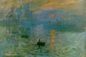 Sunrise by Claude Monet