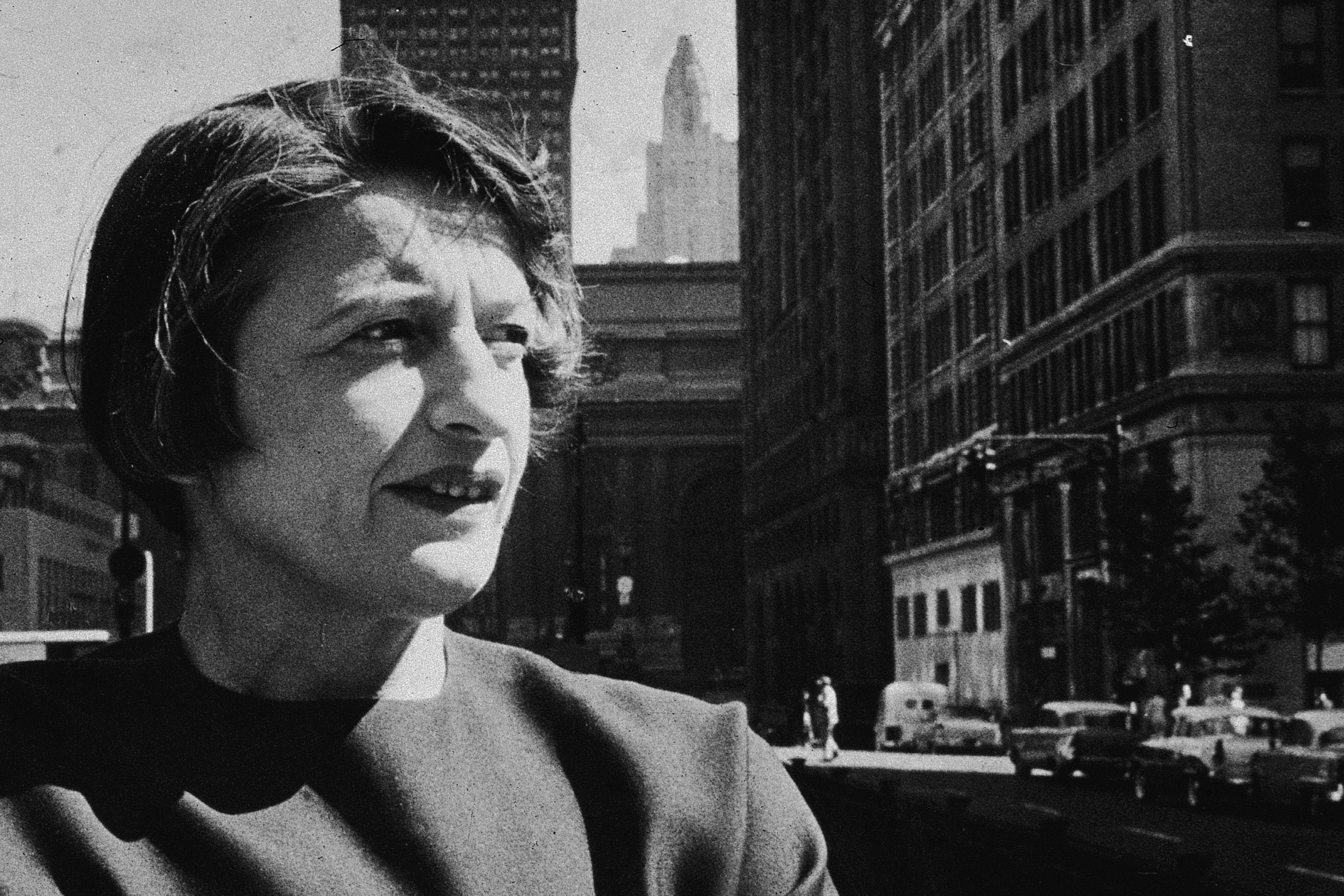 Ayn Rand in New York City, 1957