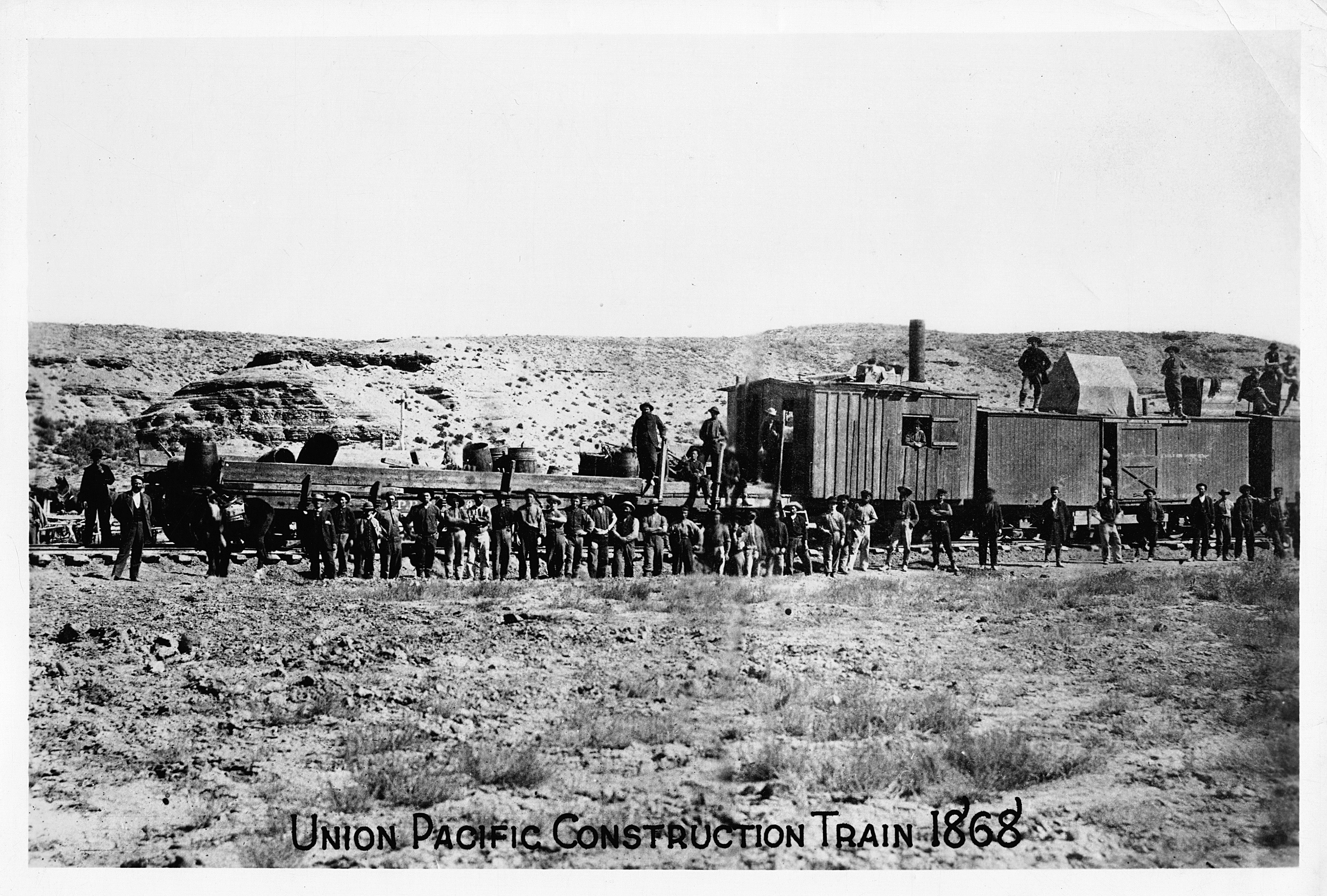5 Facts About the Transcontinental Railroad
