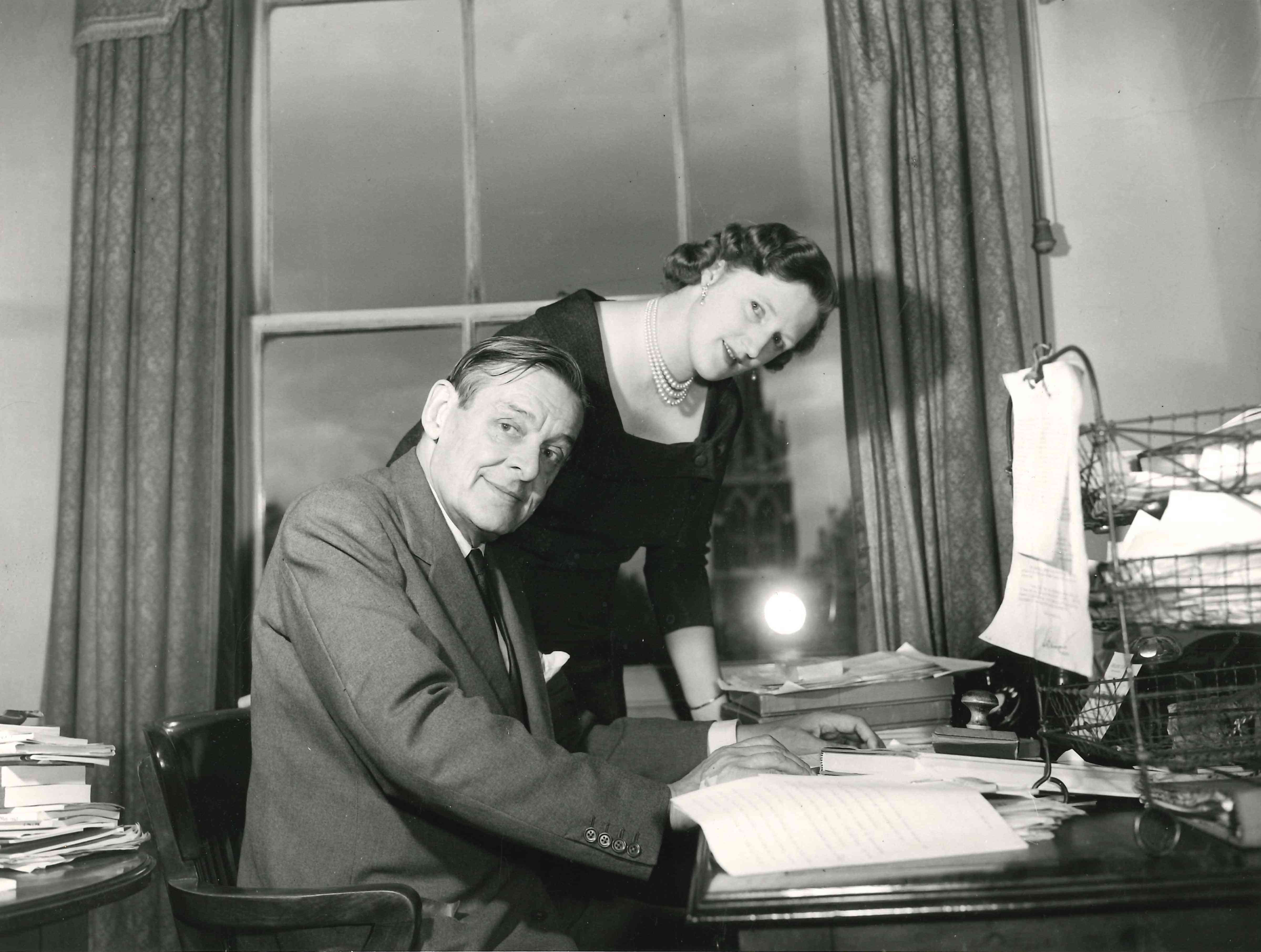T. S. And Valerie Eliot