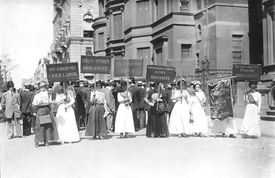 Child Labor Protest, New York