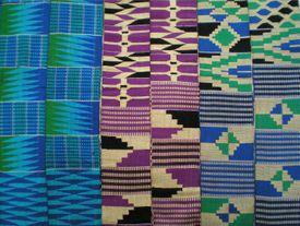 Ewe kente stripes, Ghana