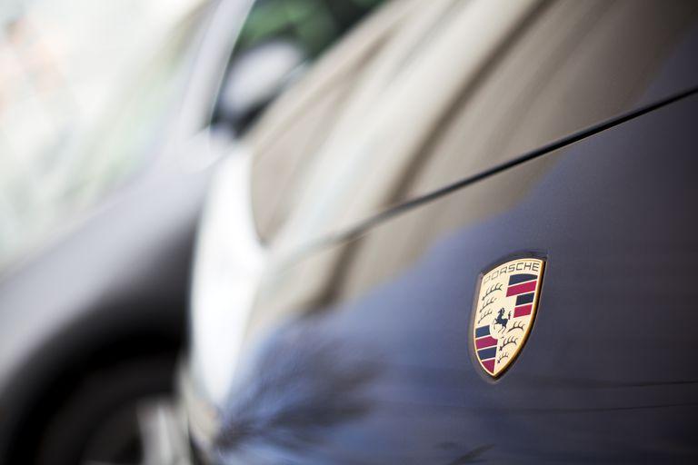 Porsche Emblem on 911 991 Series