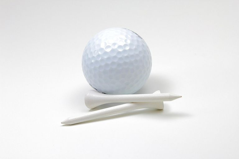 golf ball for minute to win it's drop ball game