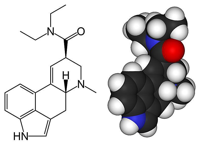 Lysergic acid diethylamide (LSD) or acid is a psychedelic drug.