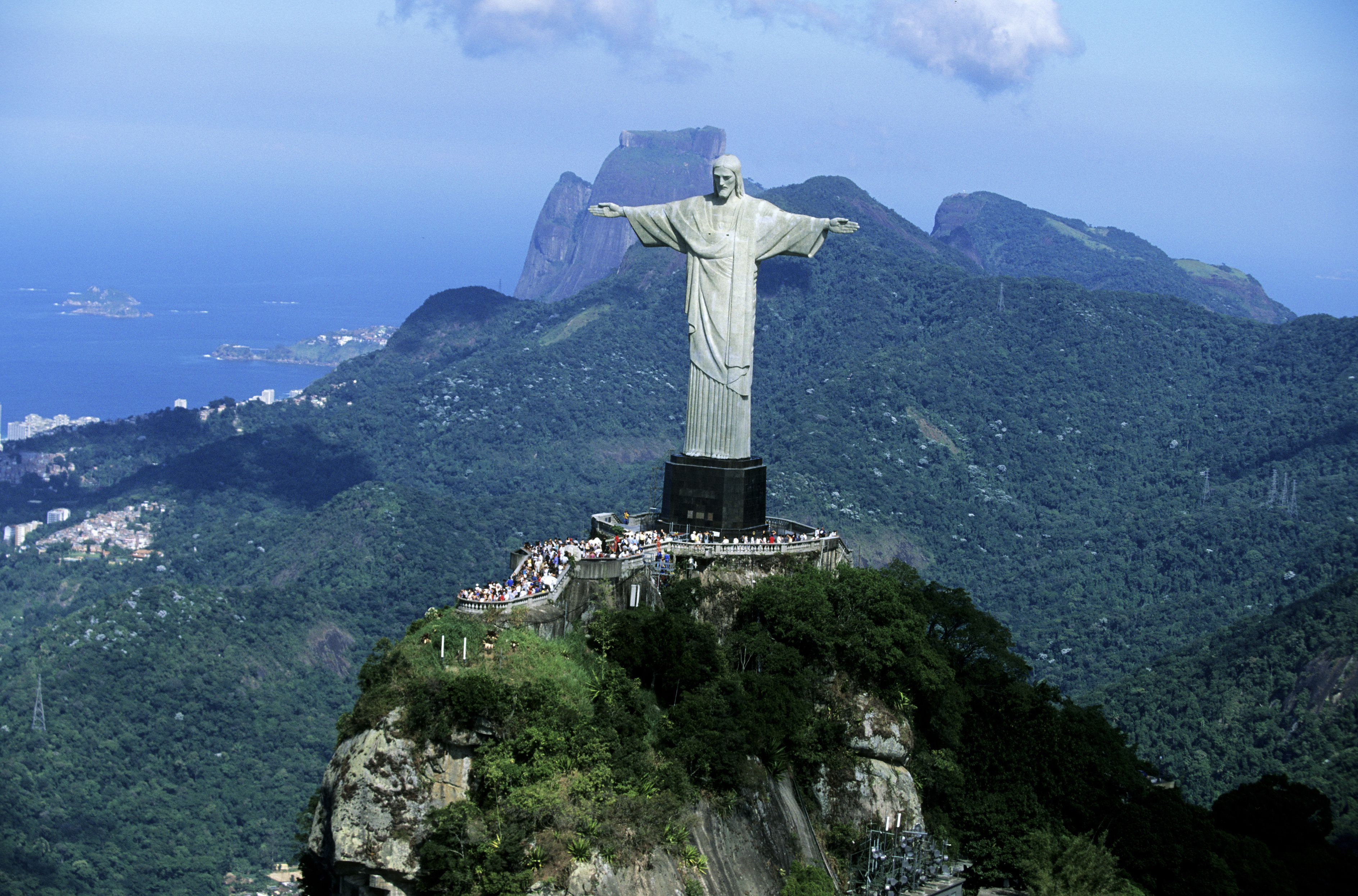 Christ Redeemer Statue in Rio de Janeiro, Brazil