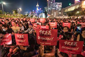 Hongkongers Protest