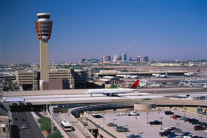 Sky Harbor Airport, one of the world's busiest airports.
