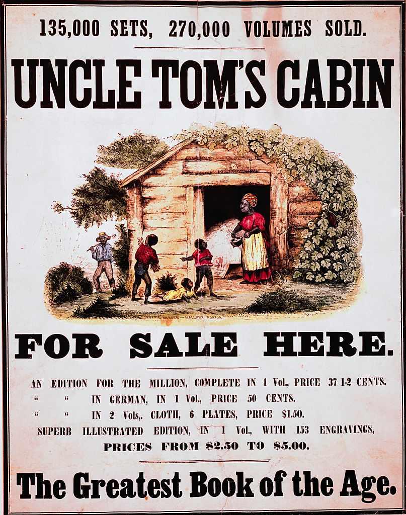 Uncle Tom's Cabin Written by Harriet Beecher Stowe