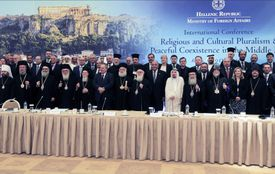 GREECE-MIDDLE EAST-RELIGION-CONFLICT-CONFERENCE