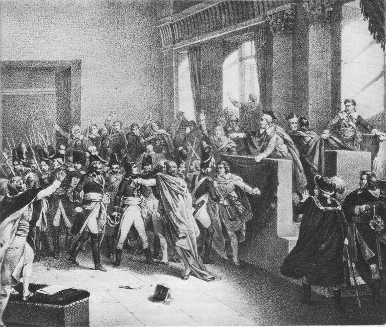 Napolean, November 9, 1799