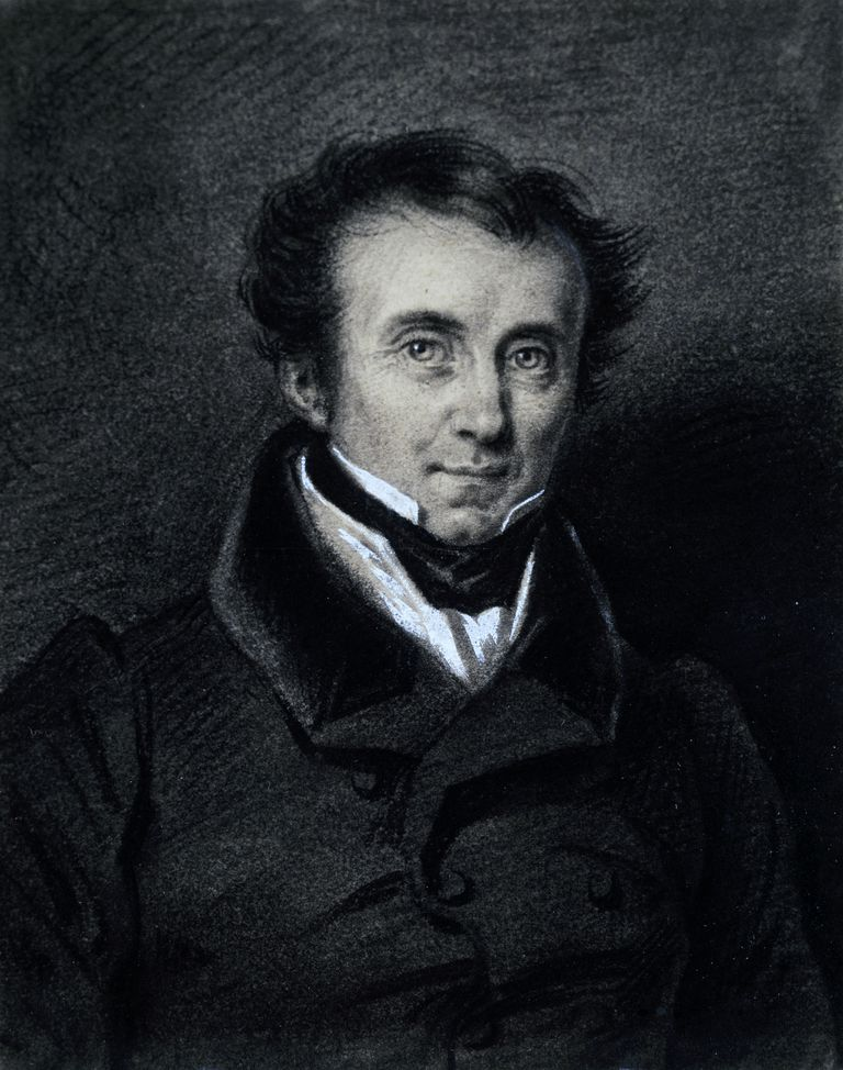 Portrait of James Fenimore Cooper (1789-1851), engraving